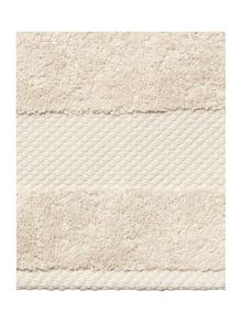 Linea Egyptian towel range in wheat