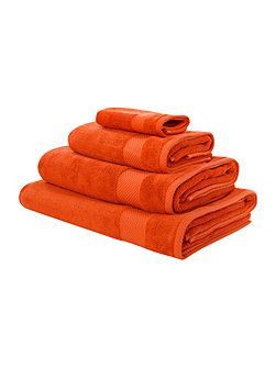 Egyptian Cotton Bath Sheet in Orange