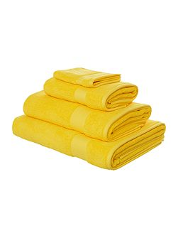 Egyptian Cotton Hand Towel in Sunshine