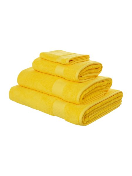 Linea Egyptian Cotton Bath Towel in Sunshine
