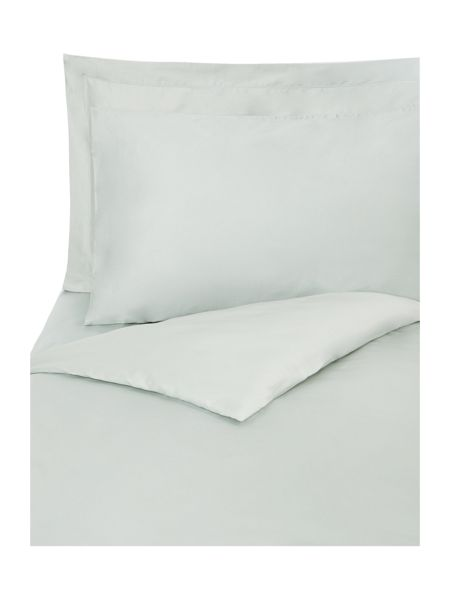 Linea Supima single flat sheet duck egg