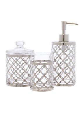 Living by Christiane Lemieux Fretwork Bathroom Collection