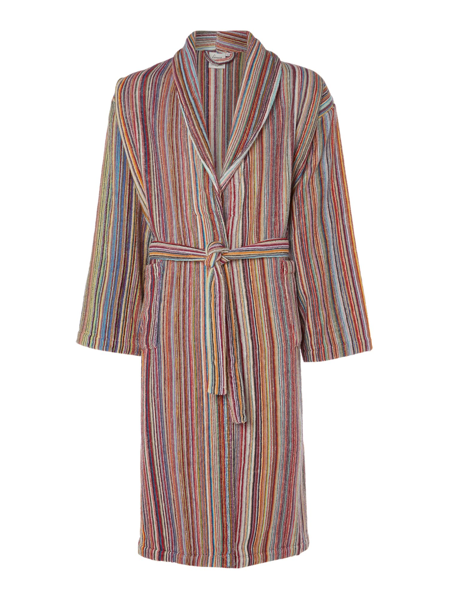 Bright stripe robe range