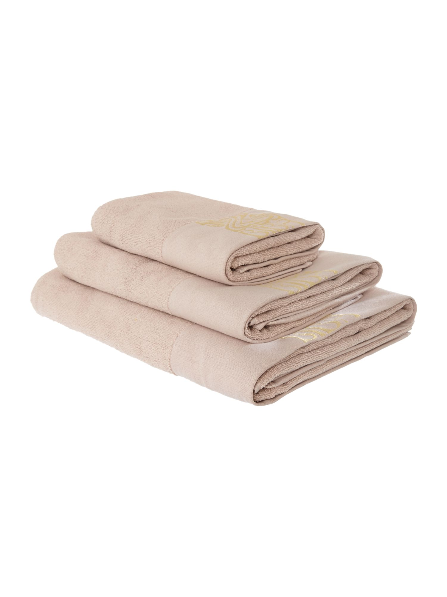 Biba Logo Blush Towel Collection