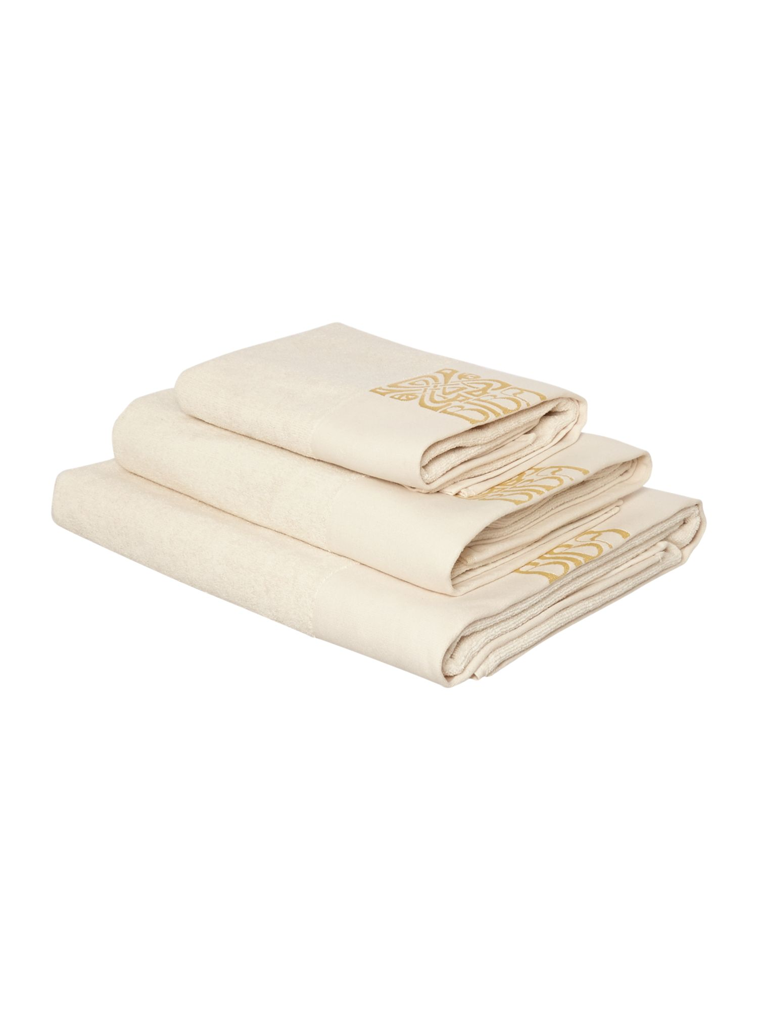 Biba Logo Amethyst Towel Collection