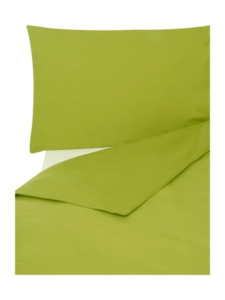 Linea Egyptian cotton oxford pillowcase lime