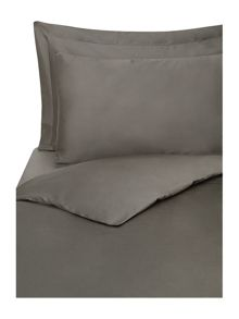 Supima 300 thread count square pillowcase pewter