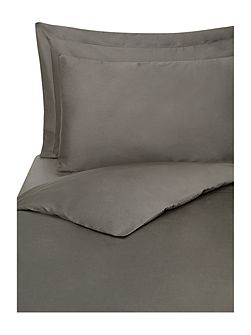 Supima 300 thread count single duvet cover pewter