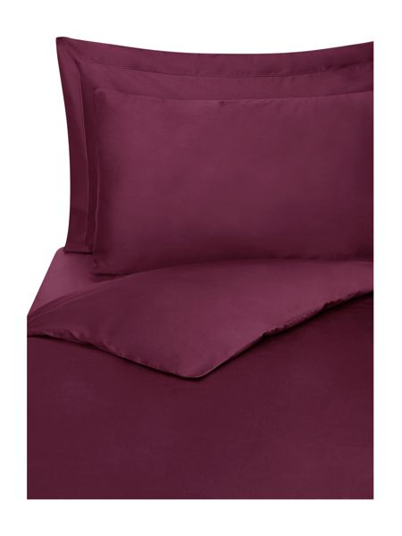 Linea Supima 300 thread count king flat sheet purple