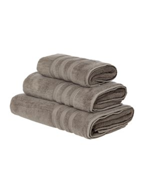 Casa Couture Smoke towel range