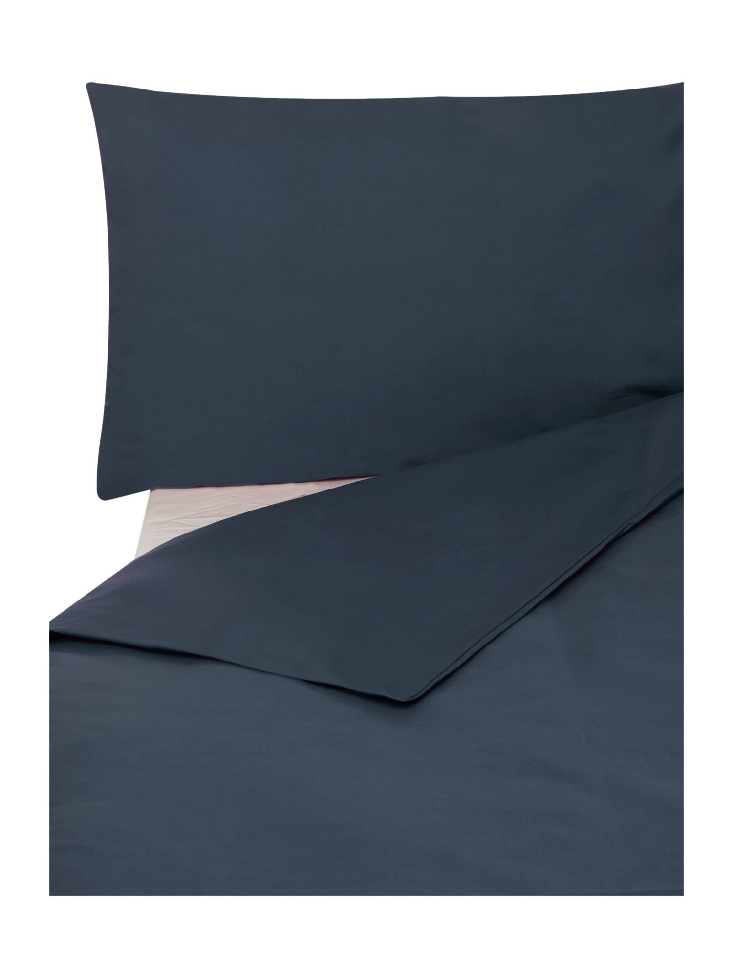 Egyptian cotton fitted sheet double indigo