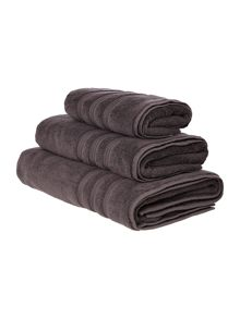 Casa Couture Slate grey towel range