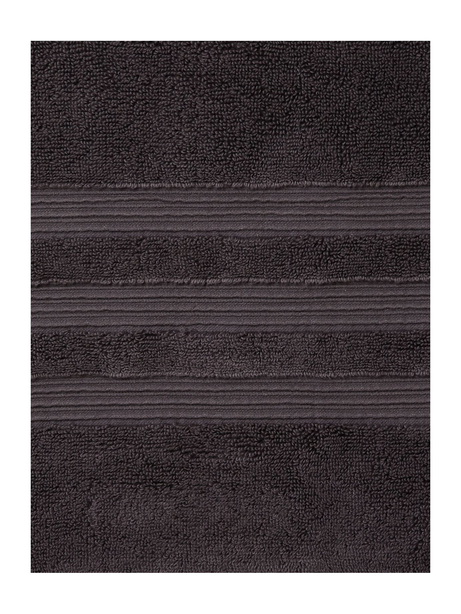 Slate grey towel range