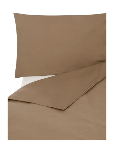 Linea Egyptian cotton fitted sheet super king beige