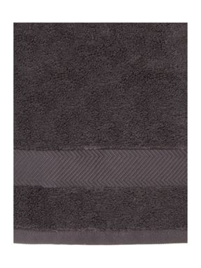 Luxury Hotel Collection Zero Twist Pewter 500GSM Towels