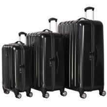 movelite matt black luggage range