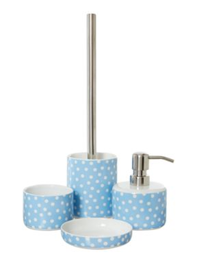 Dickins & Jones Polka Ceramic Bathroom Accessories