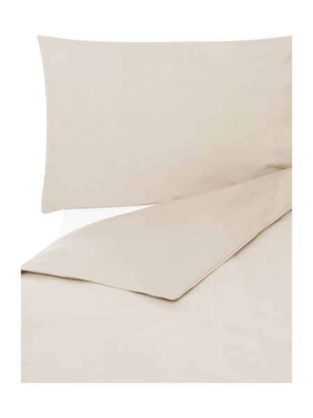 Linea Egyptian silver 200tc double duvet cover