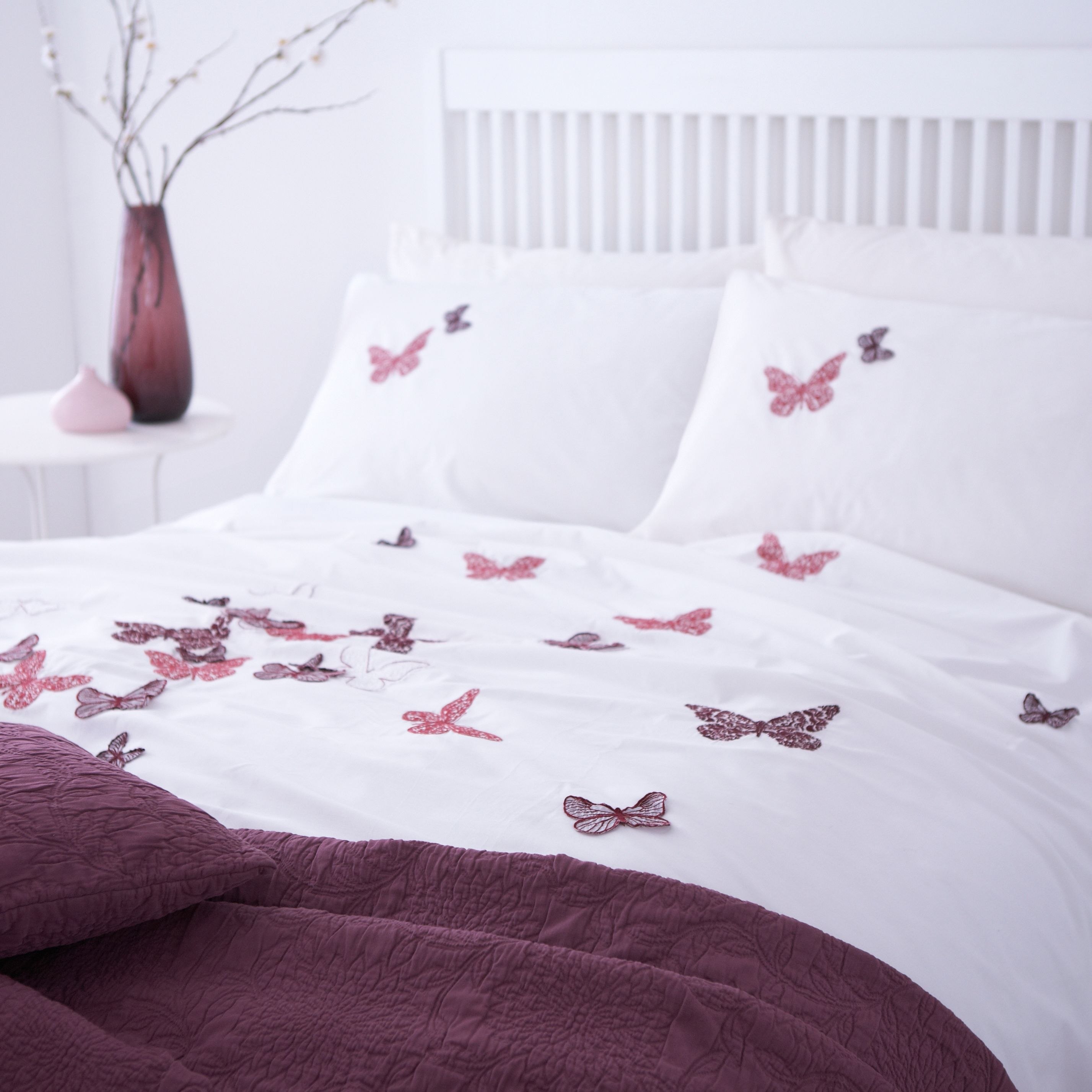 Fly away jacquard duvet set super king