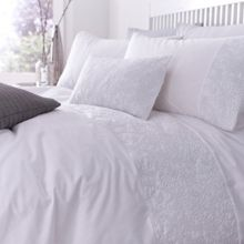 Silver lining duvet cover set double