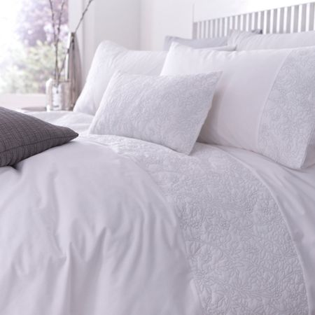 Linea Silver lining duvet cover set king