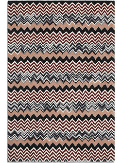 Aztec rug red/peach 150 x 230
