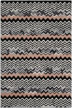 Aztec black/peach 120 x 170