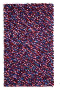 Plantation Rug Co. Beans rug purple 150 X 230