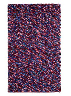 Beans 100% Wool Rug - 150x230 Purple