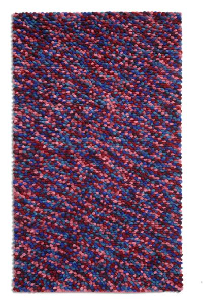 Plantation Rug Co. Beans 100% Wool Rug - 150x230 Purple