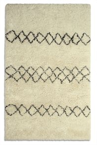 Plantation Rug Co. Benni 100% Wool Luxury Rug Raneg - Ivory
