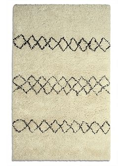 Benni 100% Wool Luxury Rug - 120x180 Ivory