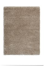 Plantation Rug Co. Purity Textures Shaggy Rug - 160x230 Taupe