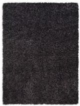 Plantation Rug Co. Purity Textures Shaggy Rug - 80x150 Anthracite