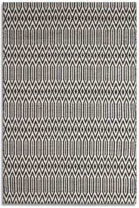 Plantation Rug Co. Serengeti 100% Wool Rug Range - Black