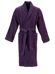 Christy Supreme robe thistle