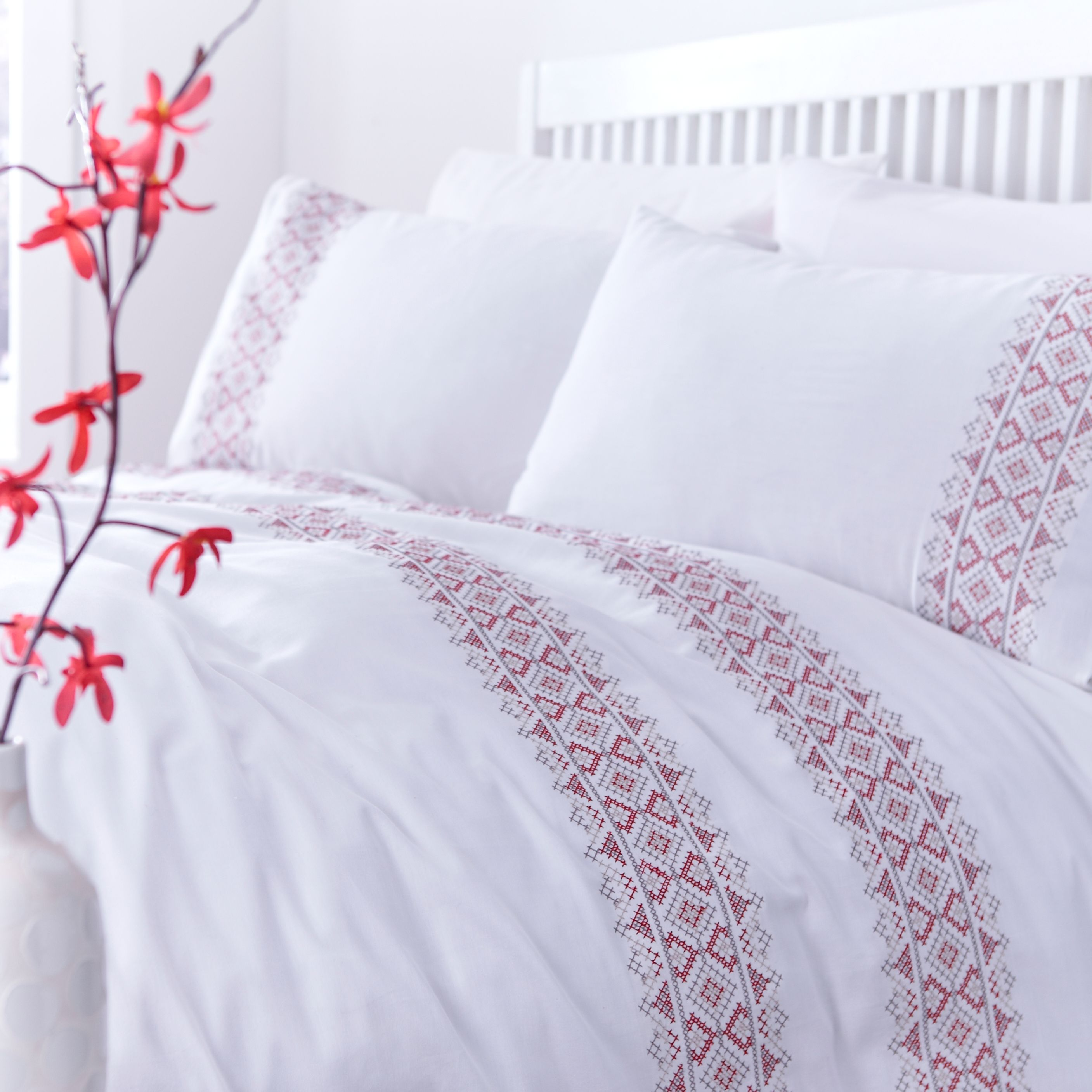 Thrift Indigo Bed Linen Range