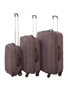 Linea Frameless Pod Gret 2 Wheel Soft Suitcase