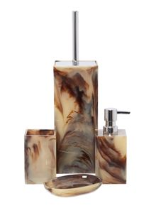 Resin Smoke Swirl Bathroom Accessories