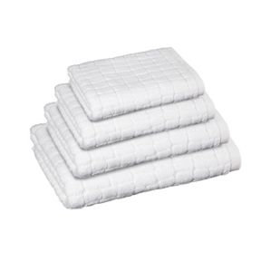 Move Plain Towels with croco cut in snow