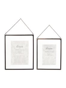 Faded Grandeur glass frames