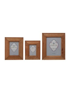Shabby Chic Weathered Oak Photo Frame range
