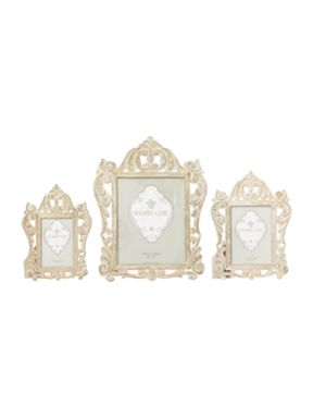 Shabby Chic Carved wooden frame