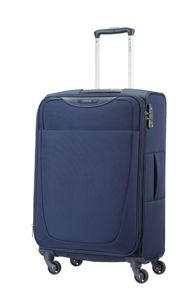 Base Hits navy blue 4 wheel large case