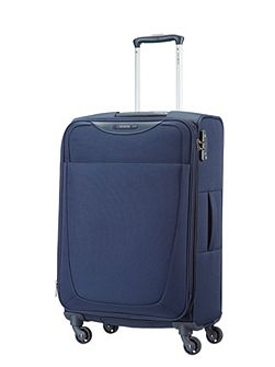 Samsonite Base Hits navy blue 4 wheel large