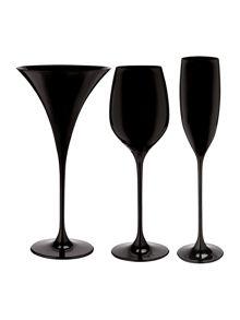 Linea Black Ghost Glassware Range