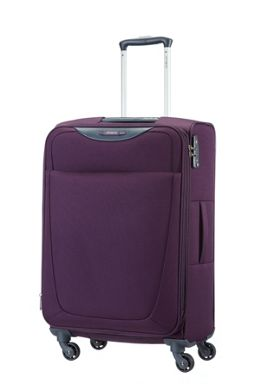 Samsonite Base Hits purple luggage range