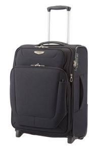 Samsonite Spark black 2 wheel luggage range