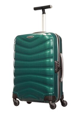 Samsonite Firelite racing green luggage range