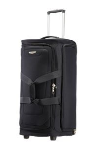 Spark black 4 wheel luggage range
